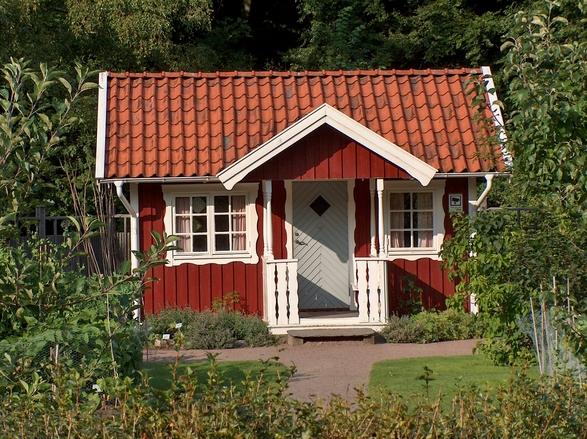 правильный дом окна