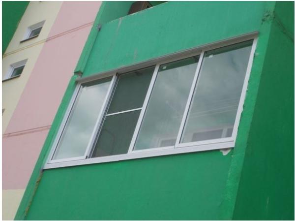 Балкон алюминиевый цена