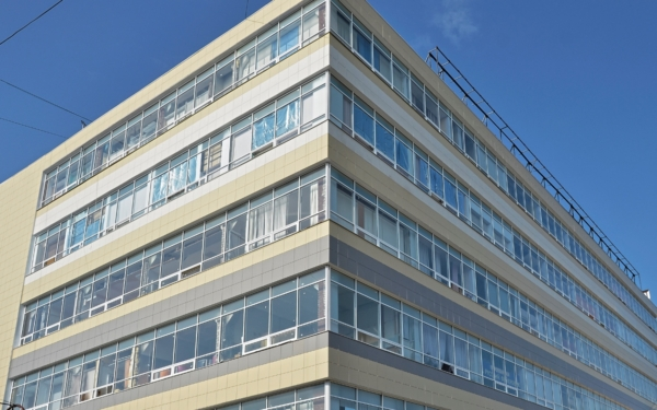 Объект: ДБ Гамаюн. Композитный фасад выполнен ВегаАвангард