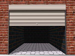 Секционные ворота - конструкции с подъемным механизмом