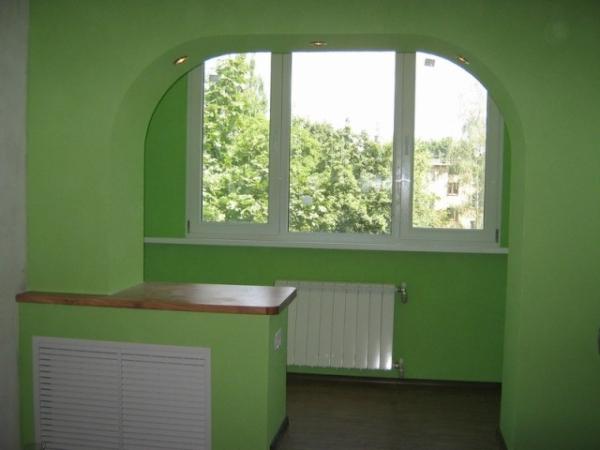 Внутренний балкон