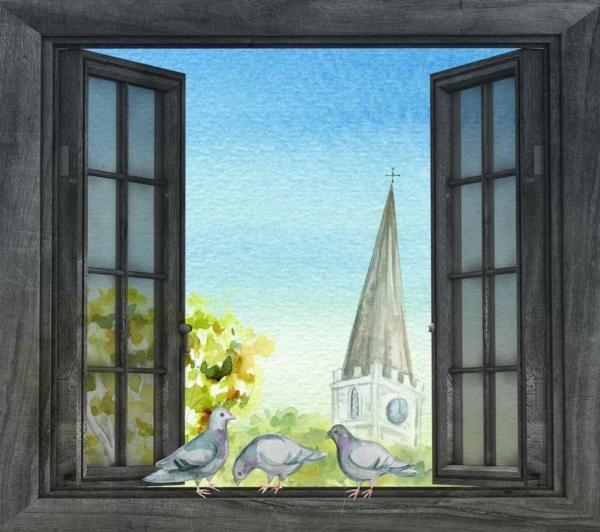 Разукрасим окно