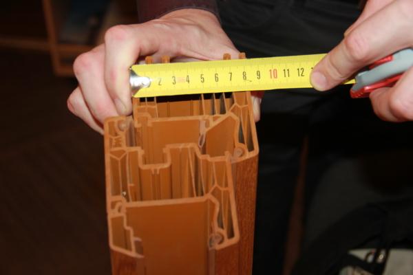 пластиковые окна классической прямой формы